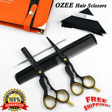 Professional Barber Hairdressing Scissors Thinning & Hair Cutting Set Shears 5.5