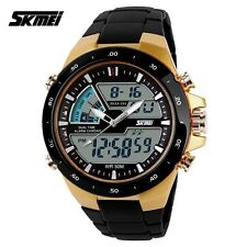 Men Sports Watches Waterproof Shock Resistant Date Climbing Dive Military Watch