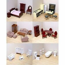 Melissa and Doug Victorian Doll House's Furniture. 5 Choices to Choose From