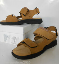 Ex British Army Tan Desert Leather Sandals BRAND NEW Holiday Beach Warm Weather