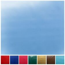 PLAIN GLOSS PVC COATED TABLECLOTH COVERING OUTDOOR GARDEN WIPECLEAN OILCLOTH