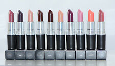 ALL NEW IN BOX MAC Satin Lipstick Series Choose Your Shade 100% Authentic