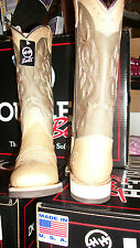 Women's Double H style #5263, Cowgirl, Western boot, rubber sole, Made in USA!