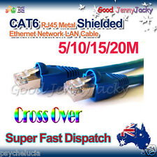 RJ45 Cat6e Shielded Modular Plug Boots Ethernet LAN Cable Cord 8P8C 3/20/30/50M