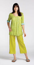 Sunshine FLAX 2013 TUCKED TUNIC Top 1G, 2G, 3G - Colors - NEW