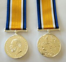 British War 1914 - 20 Full Size Medal, Replacement, WWI, Army, Navy, RAF, World