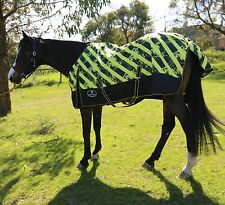 100% Waterproof Rainsheet Lite weight Mesh Lined Breathable Horse Rug