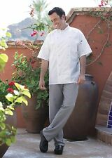 Executive Chef Pant in Black and Houndstooth Item 4020 sizes from XS to 6XL