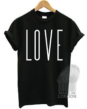 New Love Vogue Hipster Swag Fashion T Shirt Top Girls Womens Mens