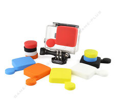 Silicone Protective Camera Lens Cap Cover + Housing Case Cover for GoPro Hero 3+