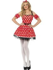 ADULT WOMENS MADAME MOUSE COSTUME SMIFFYS SEX COSPLAY FANCY DRESS - 2 SIZES