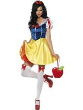 ADULT WOMENS FEVER PRINCES FAIRYTALE COSTUME SMIFFYS SEXY FANCY DRESS - 4 SIZES