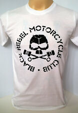 Black Rebel Motorcycle Club rock band BRMC handmade white t shirt size M