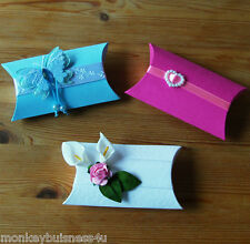 small Pillow Box - Die Cuts - Favour - Baby Shower - Wedding - Christmas - Party
