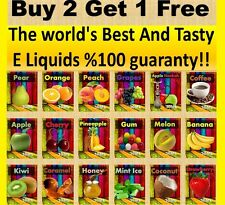 E liquid 30ML or 10ML Eliquid Vaporizer Juice 0 Nicotine flavor Kosher brand new
