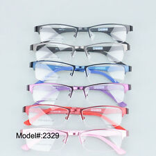 2329 New model woman's optical frames metal RX eyeglasses ultem temples eyewear