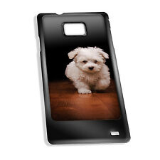Cover for Galaxy S2 case #195 Cute little fluffy puppy Gift Present Idea