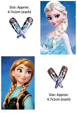 Frozen Hair Clip Birthday Party loot bag favor Supply Elsa Disney hairpin olaf