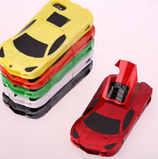3D Racing Car Model Hard Case Cover with Stand New for iPhone 4 4G 4S