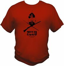 Zulu Movie 50th Anniversary T Shirt Pith Helmet British Redcoat martini henry