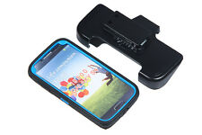 Samsung Galaxy S4 I9500 Holster Build-In Screen Kickstand Case Cover Belt Clip