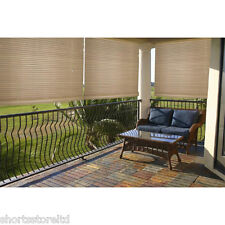 Outdoor Indoor Roll up Shade Blindes Privacy Screen Energy Effecient Protection