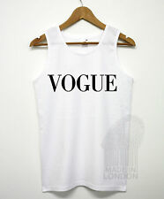 Vogue Fashion More Issues Than Vogue Swag Hipster Dope Vest Top T Shirt