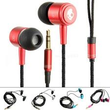 Universal Hi-Fi 3.5mm Jack Skull Stereo Mega Bass Music Headset Earphone OT8G