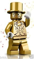 LEGO SERIES 10 - MR GOLD FIGURE + FREE GIFT - ULTRA RARE - FAST - BESTPRICE -NEW