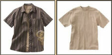 XG Boys Striped Graphic 2 Piece Shirt Tee Set NWT Brown M 10 12 L 14 16 XL 18 20
