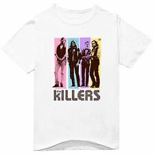 The Killers Rock Music Band Tee T-Shirts Unisex Mens Womens 100% Cotton TK004