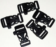 Side Release Whistle Buckles for 550 Paracord Bracelets 1 5 10 20 50 Packs
