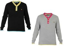 Men New DC Long Sleeve Casual Top Available In 2 Colors Bargain Price