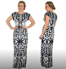 'Lucille' Designer Maxi Formal Dress Size 6-26 and Plus Evening Wear