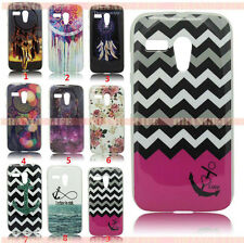 For Motorola Moto G Dream Painted TPU Soft Skin Case Silicone Phone Cover Shell