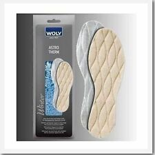 """Woly """"astrotherm"""" Extra Winter Warm New Wool Insole For Work Shoes & Boots"""