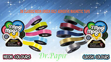 3M CLASSIC/NEON MULTIPLE COLOURS SELF ADHESIVE MAGNETIC TAPE