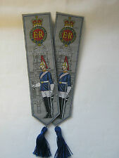 THE LIFE GUARDS & THE HOUSEHOLD CAVALRY BOOK MARKS - COLLECTORS, MILITARY