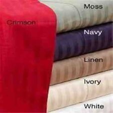 1000TC Fit Mattress 100%Egyptian Cotton Sheet Set All Stripe Colors & Size