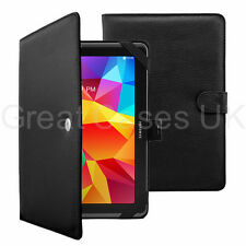 Secure Nero PU CUSTODIA COVER PER NUOVO 10 POLLICI TABLET SAMSUNG ASUS Apple Nexus Acer