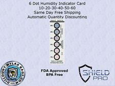 Ultimate Humidity Indicator Card Listing - 3-Dot or 6-Dot Silica Gel Desiccant