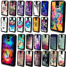 Colorful Dreamy Scenery Painted Cover Case For Samsung Galaxy S3 S4 S5 i9600