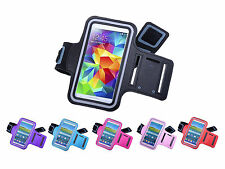 Sports GYM Running Jogging Armband Case Cover For Samsung Galaxy S5 S4 HTC One 7