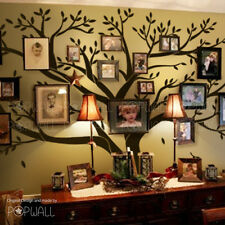 Giant Family Photo Tree Wall Decal for Modern Home Original Family Wall Sticker