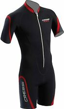 Cressi Playa 2.5mm Men's Front Zip Shorty Wetsuit
