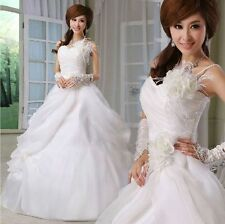 New Cheap Strapless Sweetheart Ball Gown Wedding Dresses Bridal Dresses