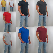 New Abercrombie & Fitch A&F Men  V Neck Tee T Shirt Hollister All Size Color NWT