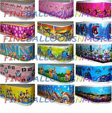 THEMED TABLECLOTH / TABLE COVER (MANY DESIGNS) BIRTHDAY PARTY SUPPLIES TABLEWARE