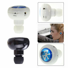 Wireless Headphone Stereo Bluetooth Headset Earbud Earphone For Samsung iphone