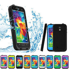 New Waterproof Shockproof Dirt Proff Case Cover For Samsung Galaxy S5 S V I9600